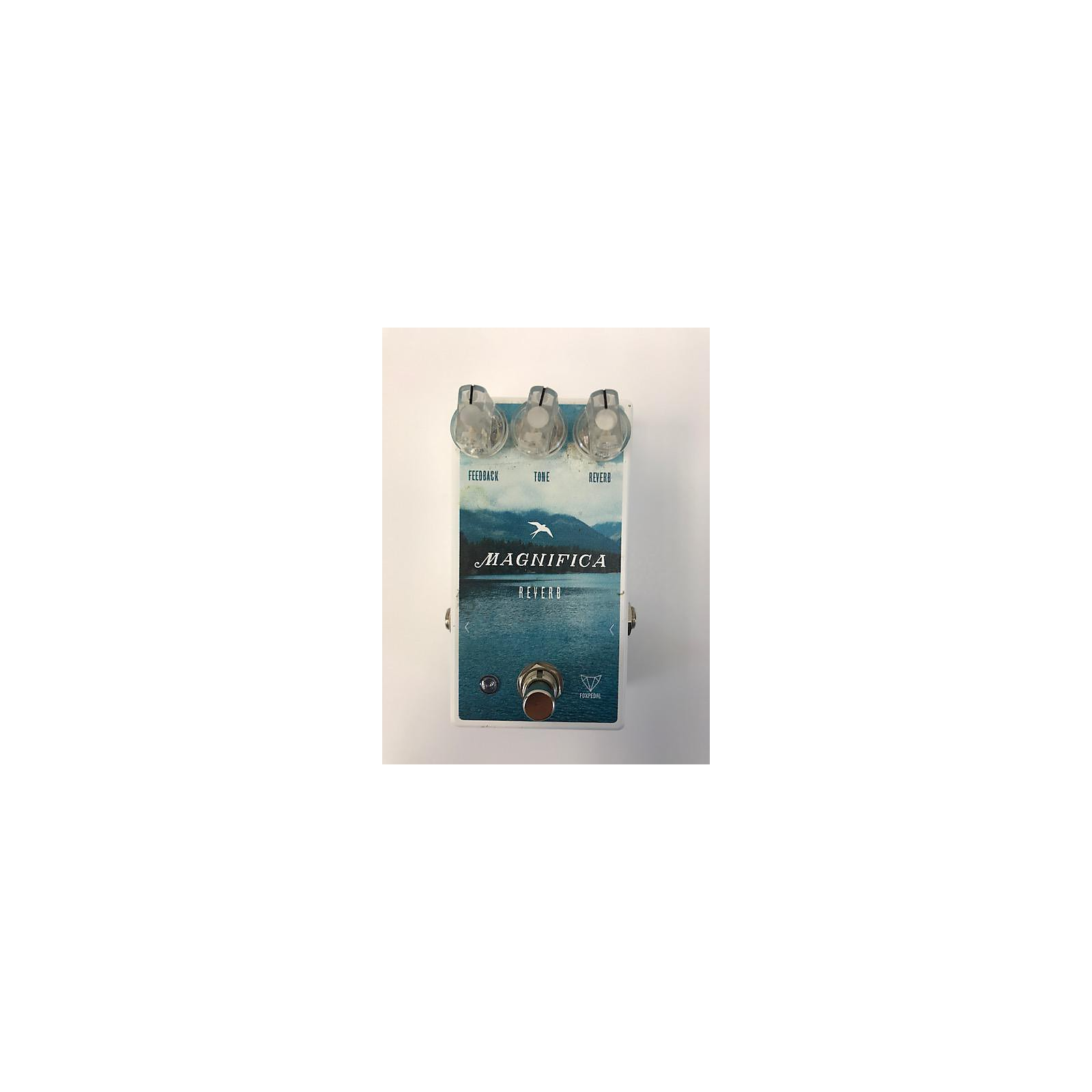 In Store Used Used Foxpedal Magnifica Reverb Effect Pedal