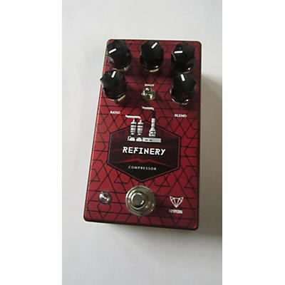 Used Foxpedal Refinery Compressor Effect Pedal