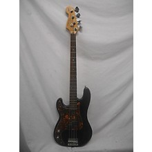 Used Frisco P Style Left Handed Black Electric Bass Guitar