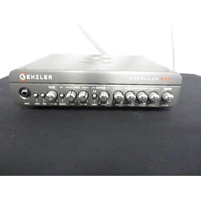 Used GENZLER MAGELLAN 800 Bass Amp Head