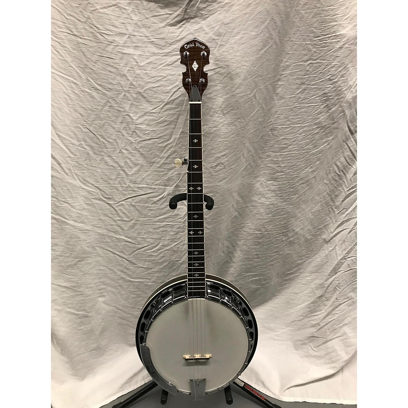 In Store Used Used GOLDTONE BG250F Brown Banjo