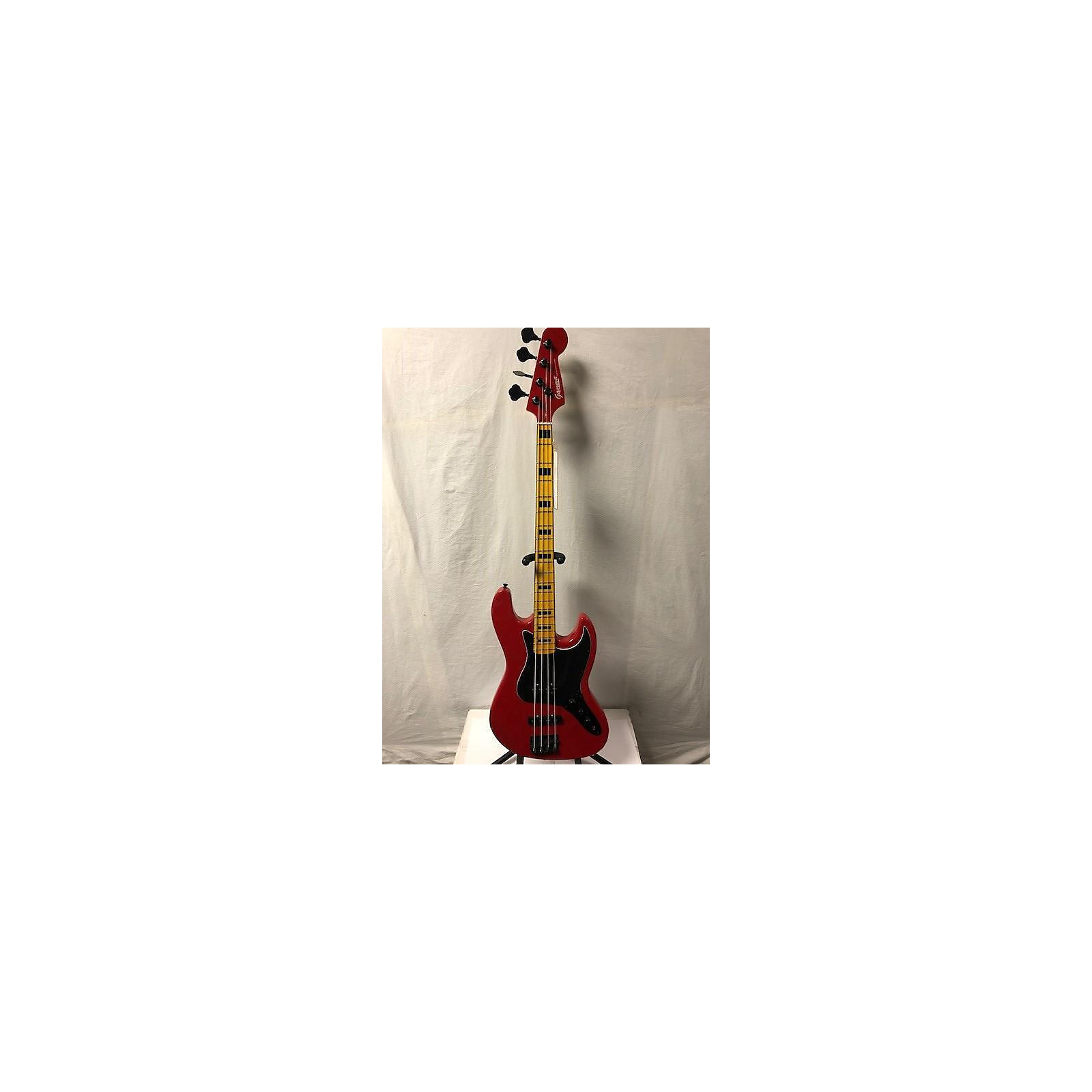 In Store Used Used Gamma Custom Shop J20-03 Scarlet Red Electric Bass Guitar