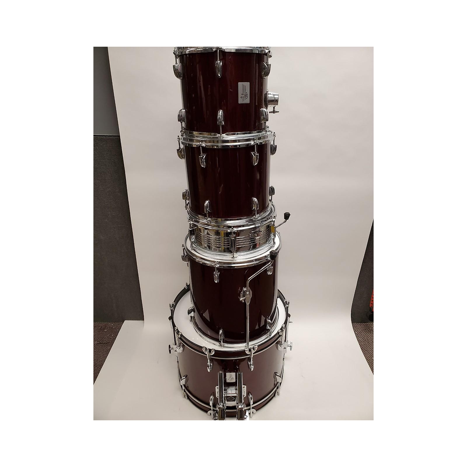 In Store Used Used Grand Prix 5 piece Performer Wine Red Drum Kit