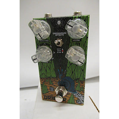 Used Greenhouse Effects Drifter Analog Tremolo Effect Pedal