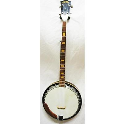 Used Guthrie G70 Antique Natural Banjo