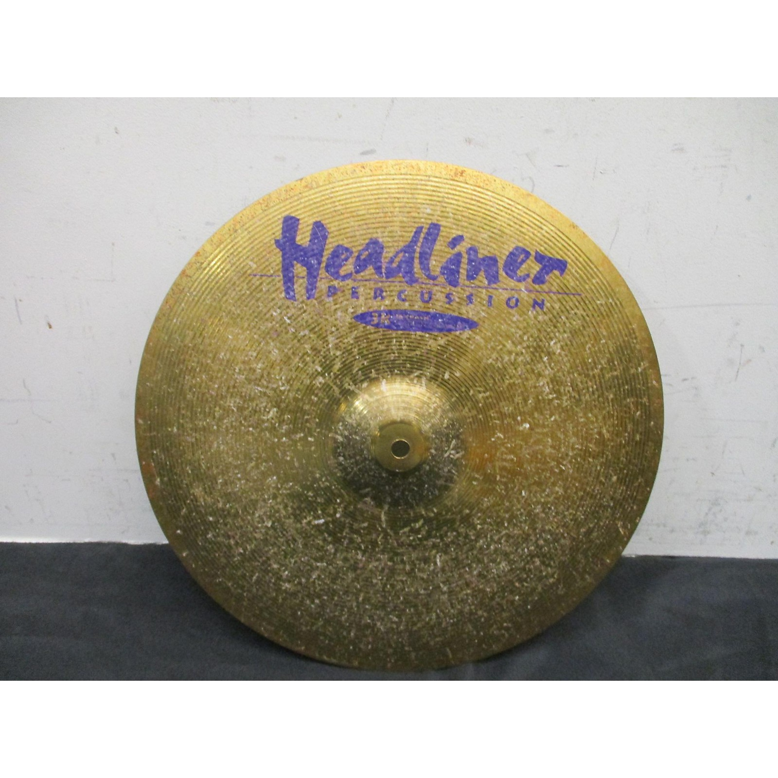 In Store Used Used HEADLINER PERCUSSION 16in 3K CRASH Cymbal