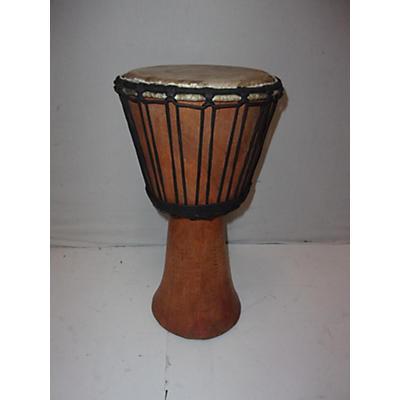 Used Handmade African Djembe