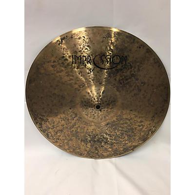 Used IMPRESSION 16in CRASH Cymbal