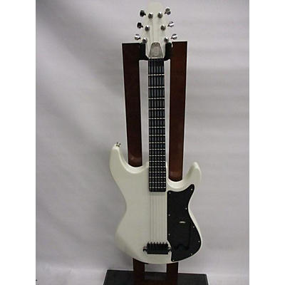 Used Incident Gtar White Electric Guitar