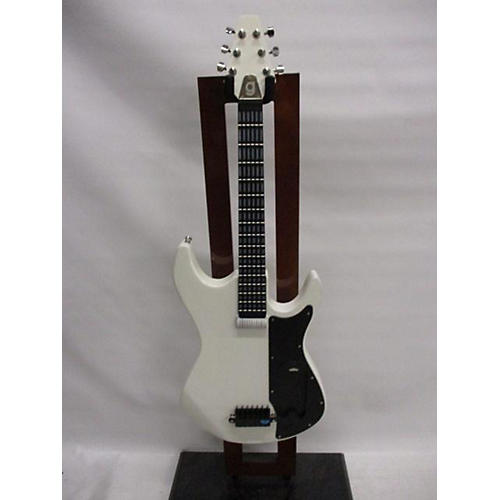 Used Incident Gtar White Electric Guitar White