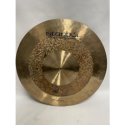 Used Istambu 26in Istambu Agop Custom Series Sultan Cymbal