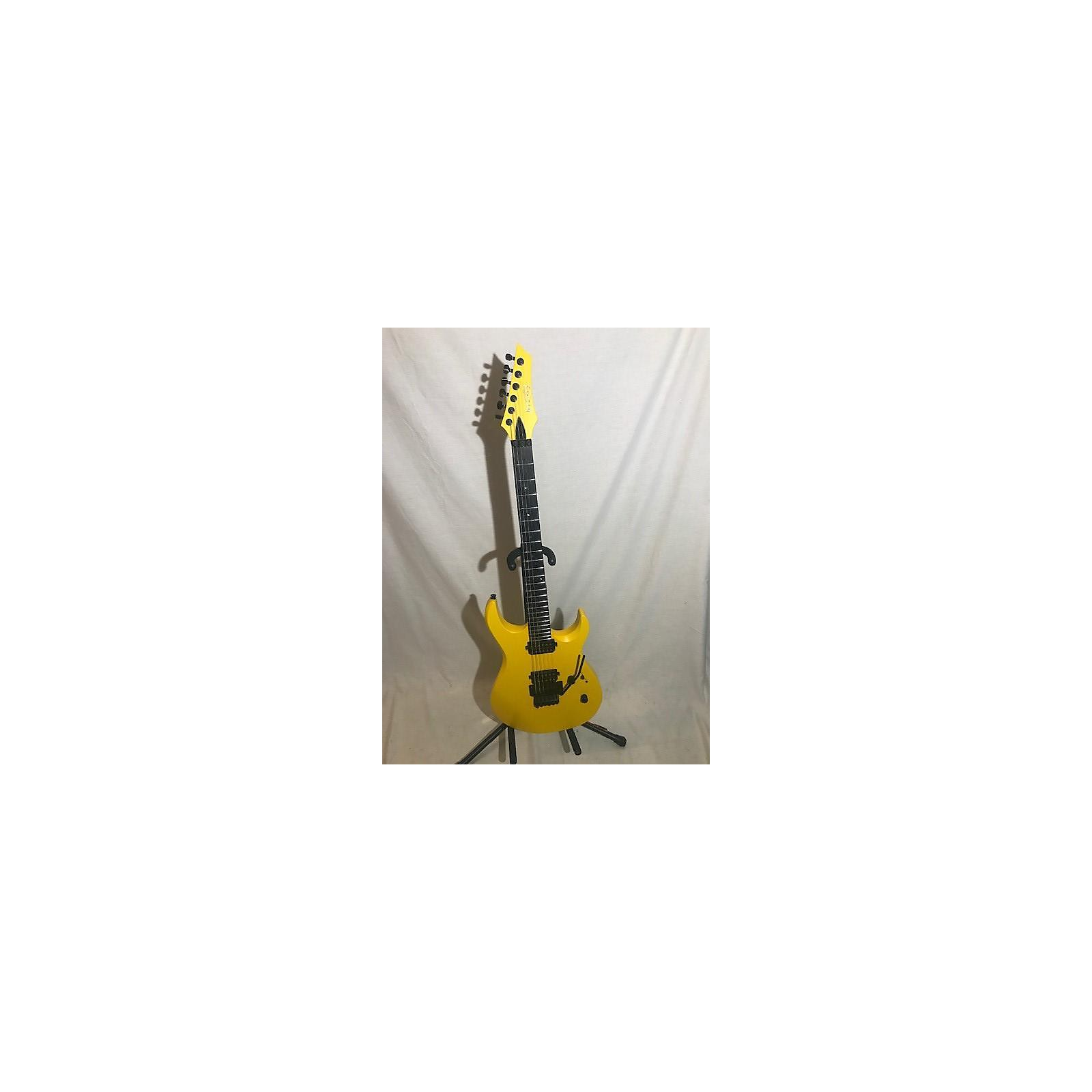 In Store Used Used KIESEL DC600 Yellow Solid Body Electric Guitar
