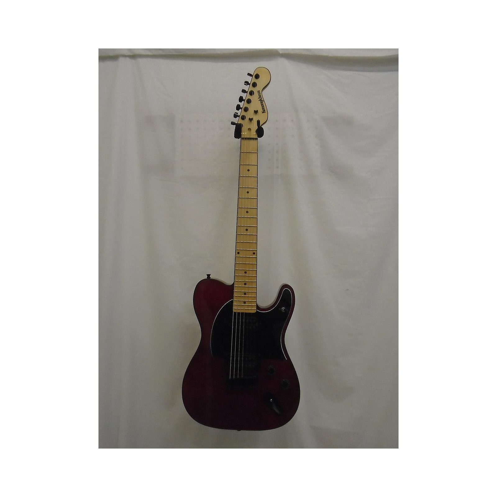 In Store Used Used KONONYKHEEN BREED TWENTY FIVE Candy Red Solid Body Electric Guitar