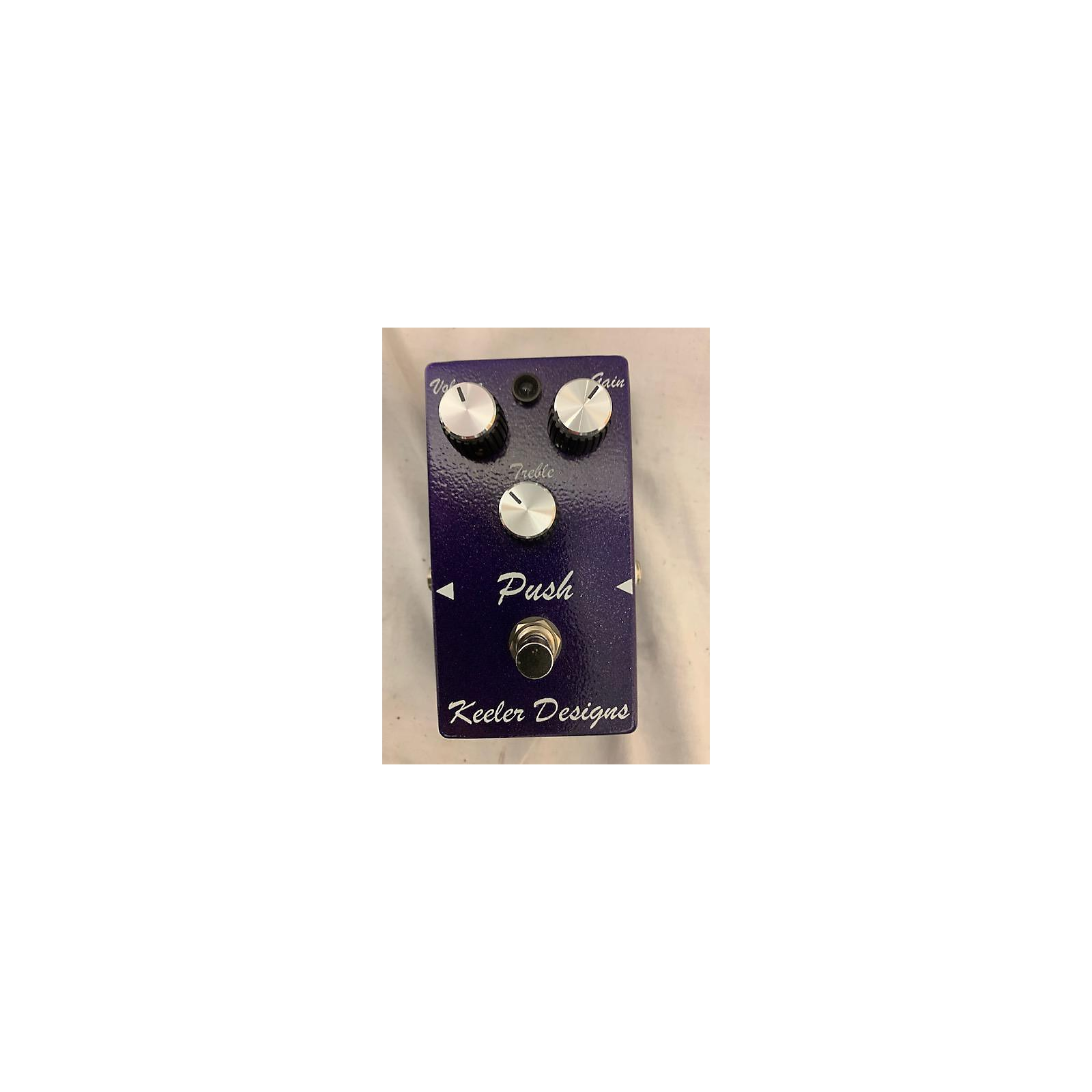 In Store Used Used Keeler Designs Push Effect Pedal