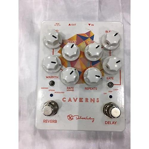 Used Keeley Caverns V2 Delay/Reverb Effect Pedal