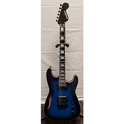 Used Kononykheen Breed Twenty-Six Blue Burst Hollow Body Electric Guitar