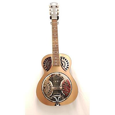 Used Liberty Guitars FA100 Copper Resonator Guitar