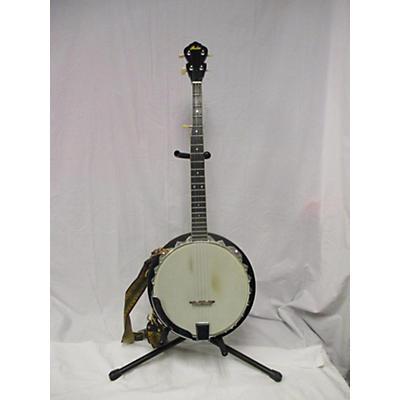 Used Lida 5 String Banjo Natural Banjo