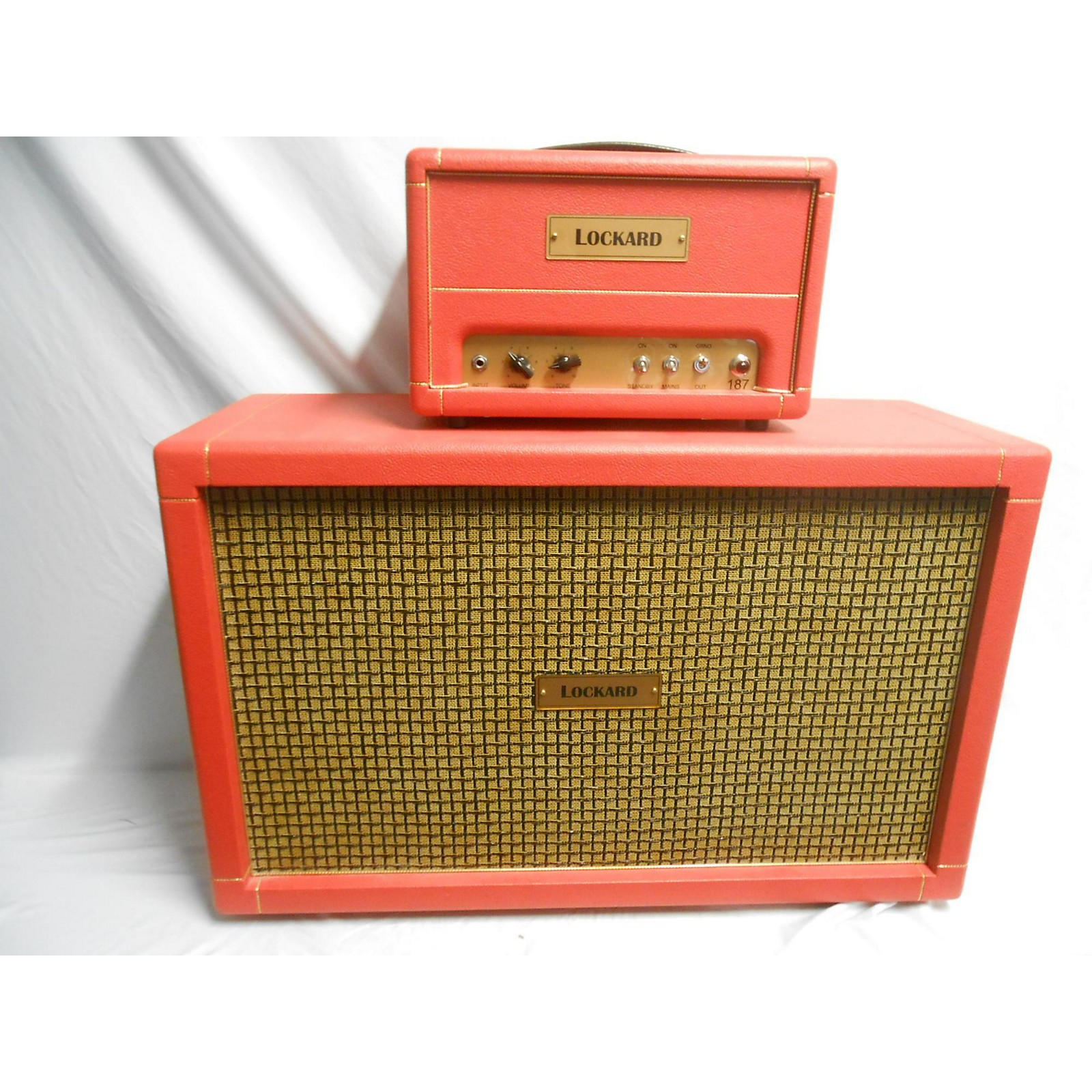 In Store Used Used Lockard 187 Tube Guitar Combo Amp