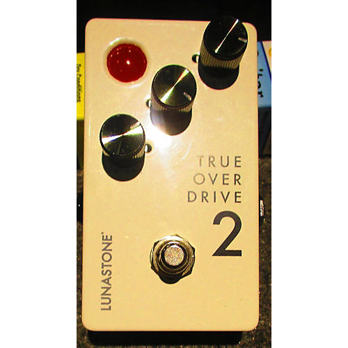 Used Lunastone True Overdrive 2 Effect Pedal
