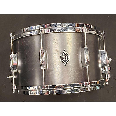 Used M4 Drum Co 8X14 Maple Drum Black Stain