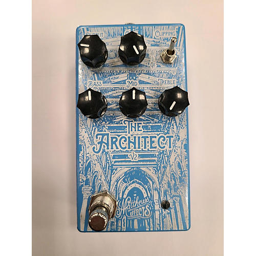 Used MATTHEWS EFFECTS THE ARCHITECT V2 Effect Pedal
