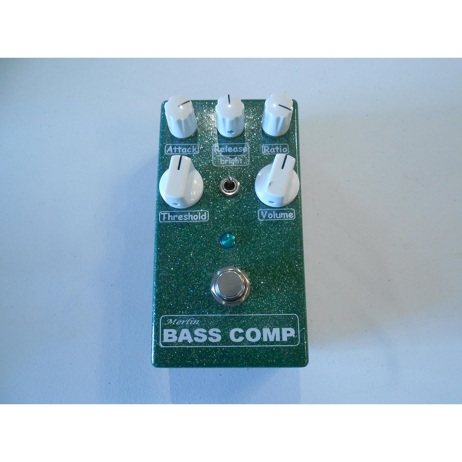 In Store Used Used MERLIN BASS COMP Bass Effect Pedal