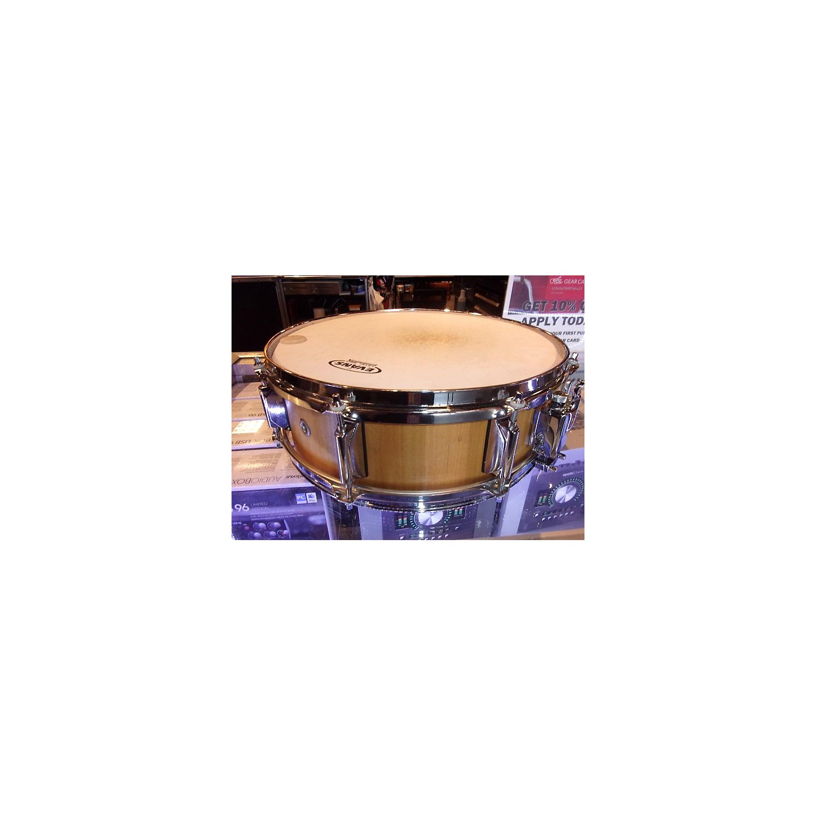 In Store Used Used Magnetic North Drum Co. 5X14 Picolo Drum Poplar