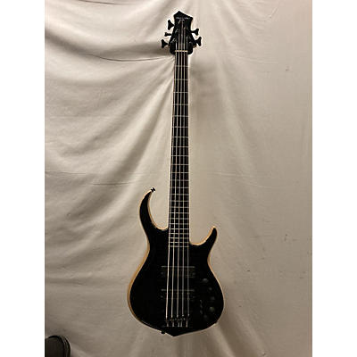 Used Marcus Miller M7 Swamp Ash 5-String Trans Black Electric Bass Guitar