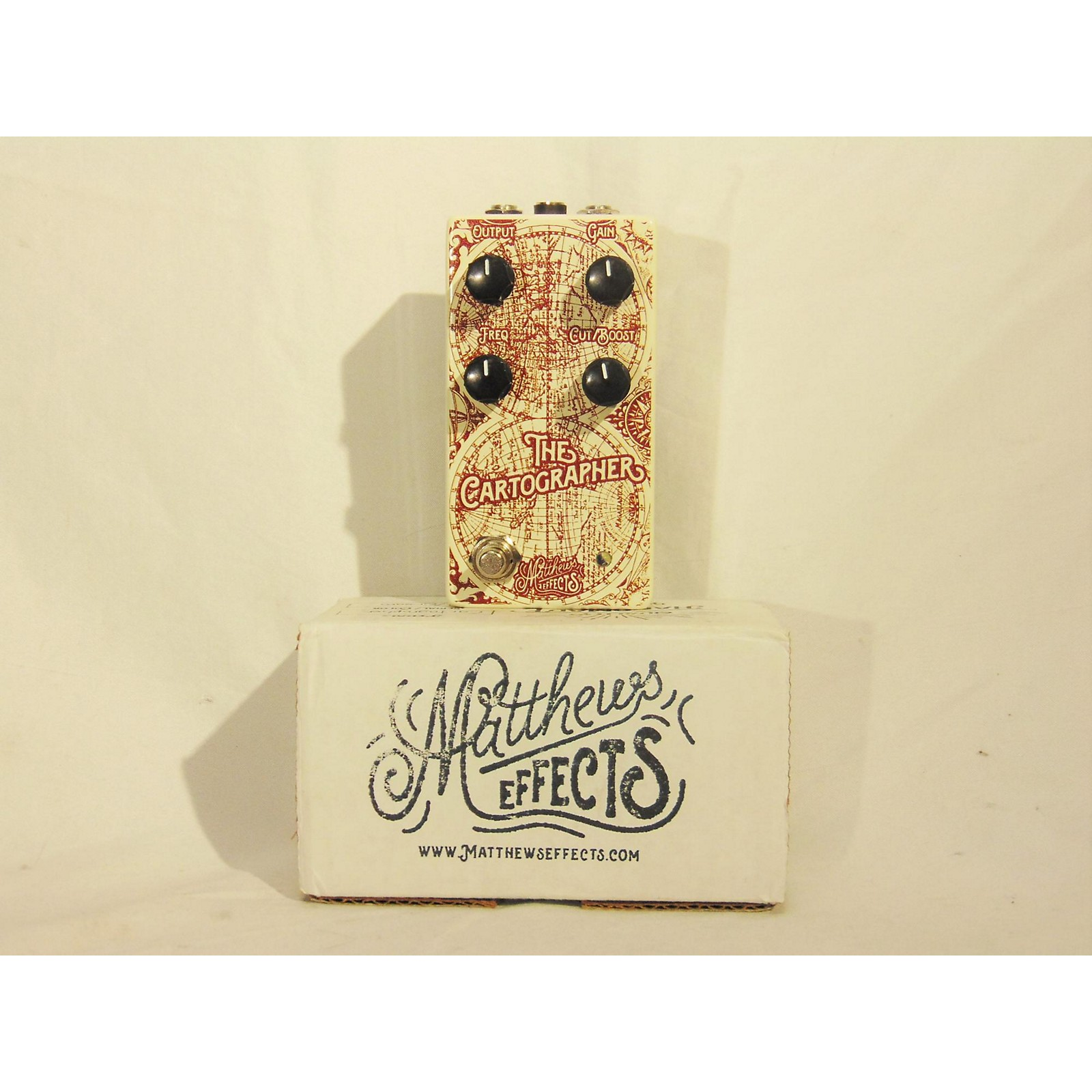 In Store Used Used Matthew's Effects The Cartographer Effect Pedal