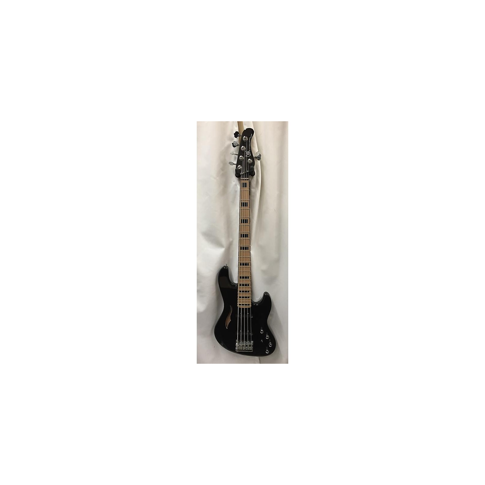 In Store Used Used Mayones JABBA SH5 Black Electric Bass Guitar