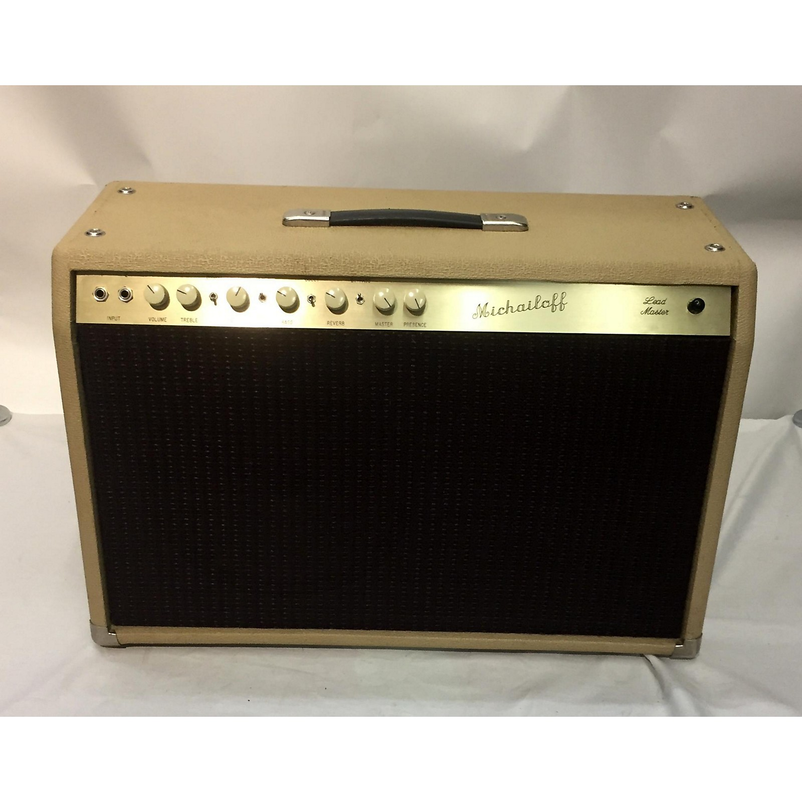 In Store Used Used Michaeloff Lead Master 112 Tube Guitar Combo Amp