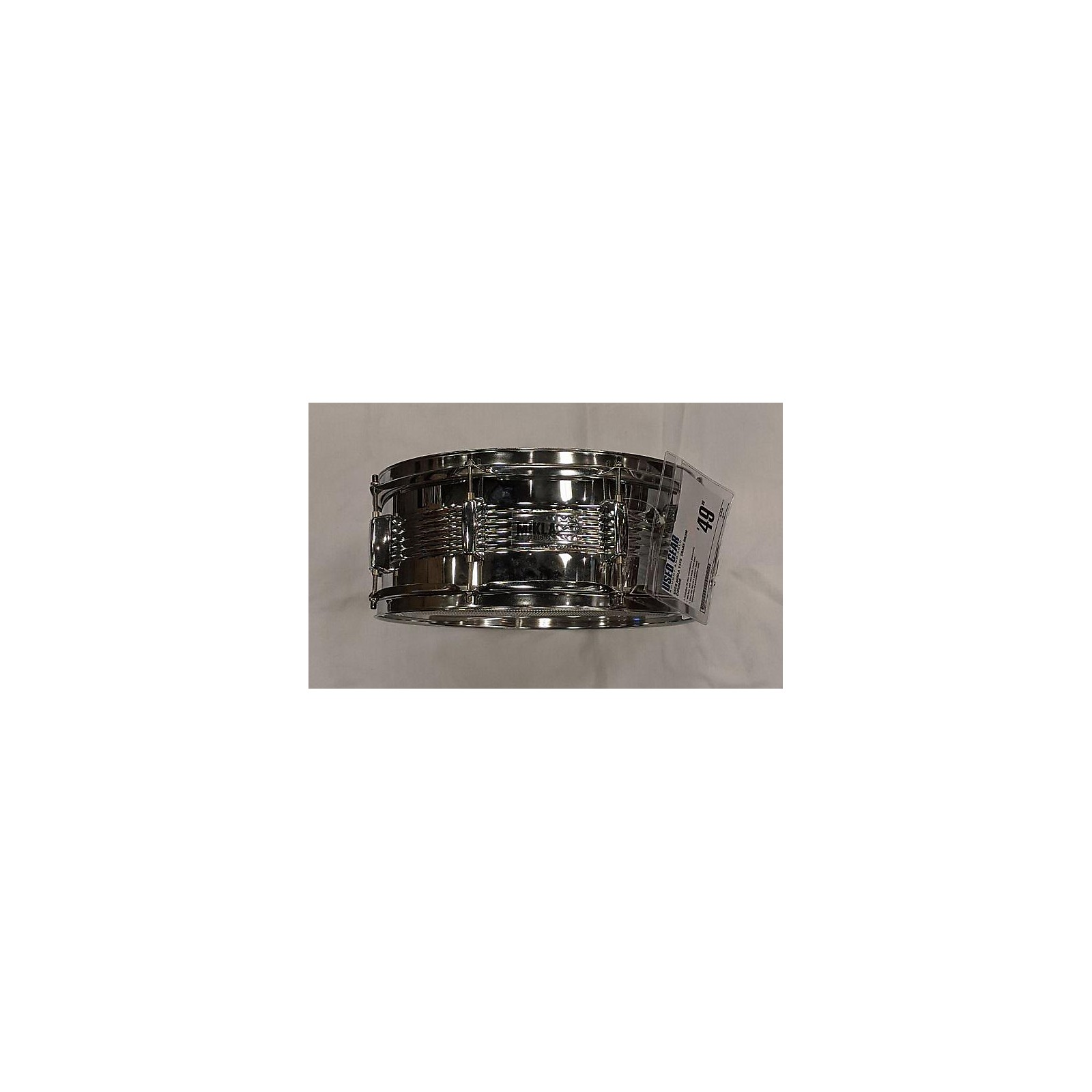In Store Used Used Mikla 14X5  Snare Drum Chrome
