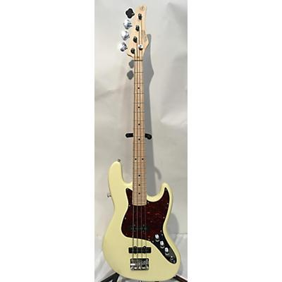 Used NASHVILLE GUITAR WORKS DOUBLE CUT Vintage Blonde Electric Bass Guitar