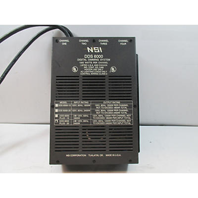 Used NSI DDS 6000 Lighting Controller