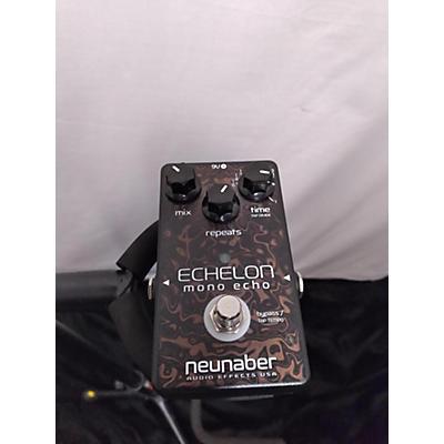 Used Neunaber Echelon Mono Echo Effect Pedal