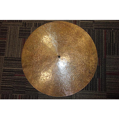 Used Nicky Moon / Mike Mongiello 18in Flat Ride Cymbal