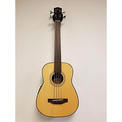 Used OHANA OBU22FLM Natural Acoustic Bass Guitar
