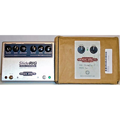 Used Origin Effects Slide Rig Dual Chained Limiting Amplifier Effect Pedal