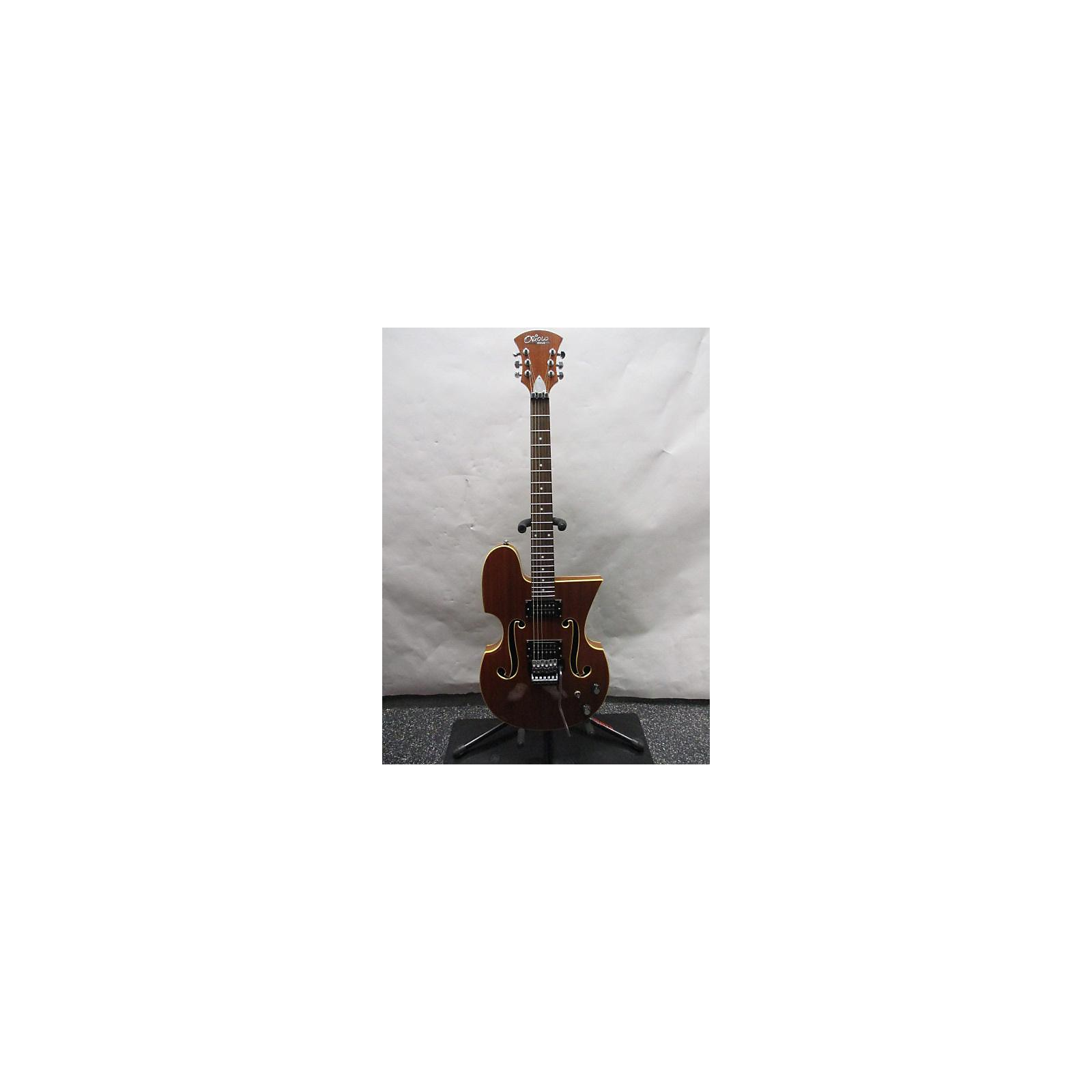 In Store Used Used Oriolo ME-10-6 Brown Hollow Body Electric Guitar