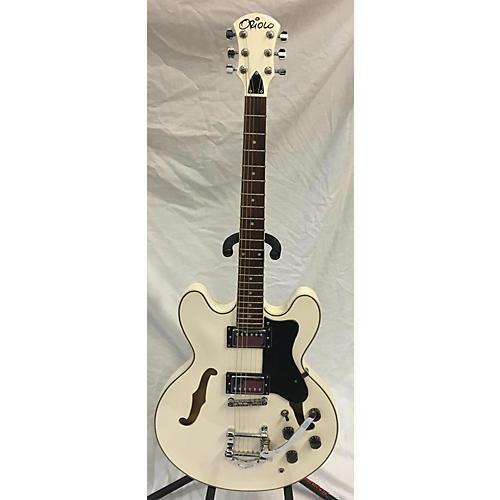 Used Oriolo Prestar Blanche Alpine White Hollow Body Electric Guitar Alpine White