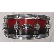 Used Pacific Drums & Percussion 14X5.5 MX Series Snare Drum Red