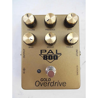 Used Pedal Pal FX Gold Overdrive Effect Pedal