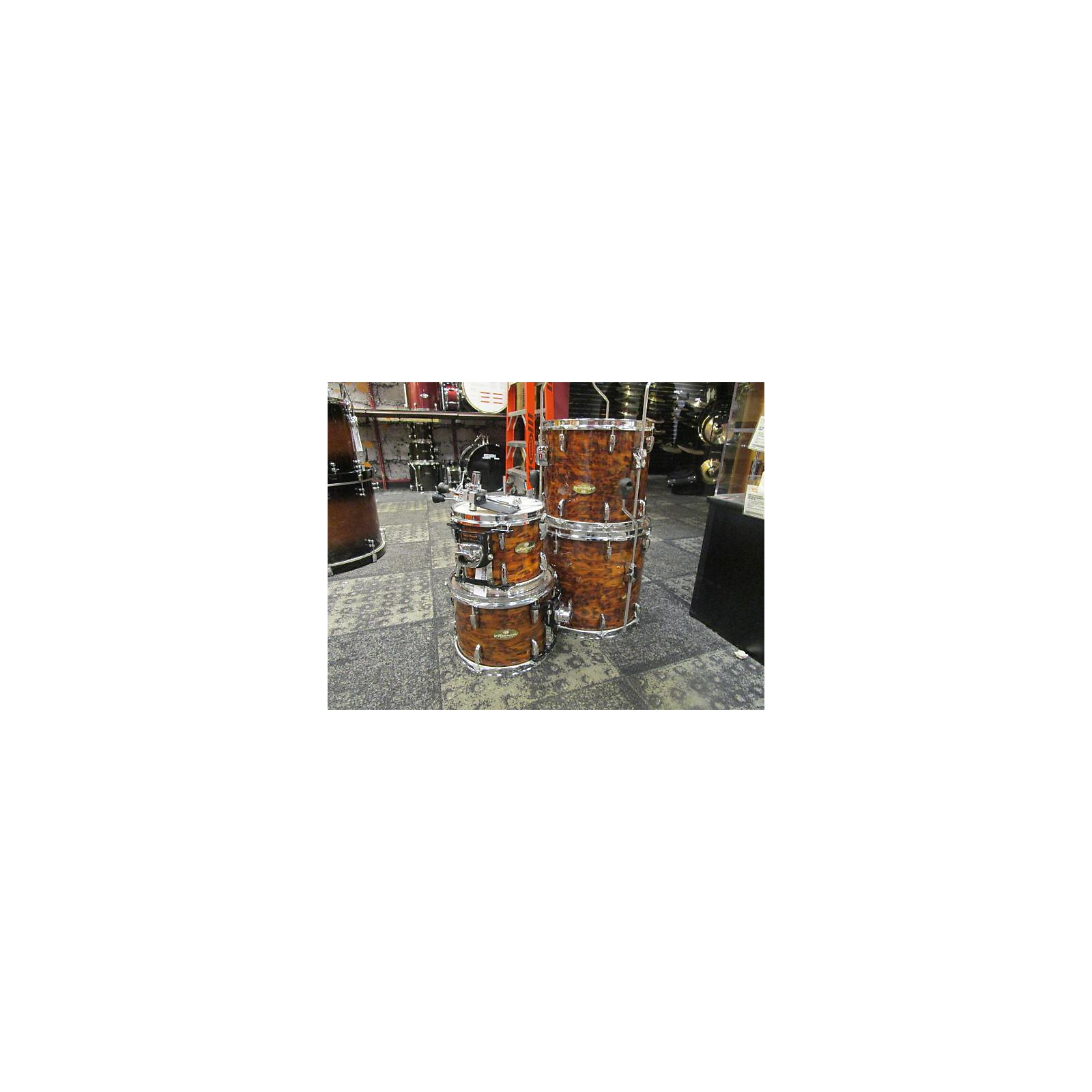 In Store Used Used Peral 4 piece Masterworks Jungle Exotic Drum Kit