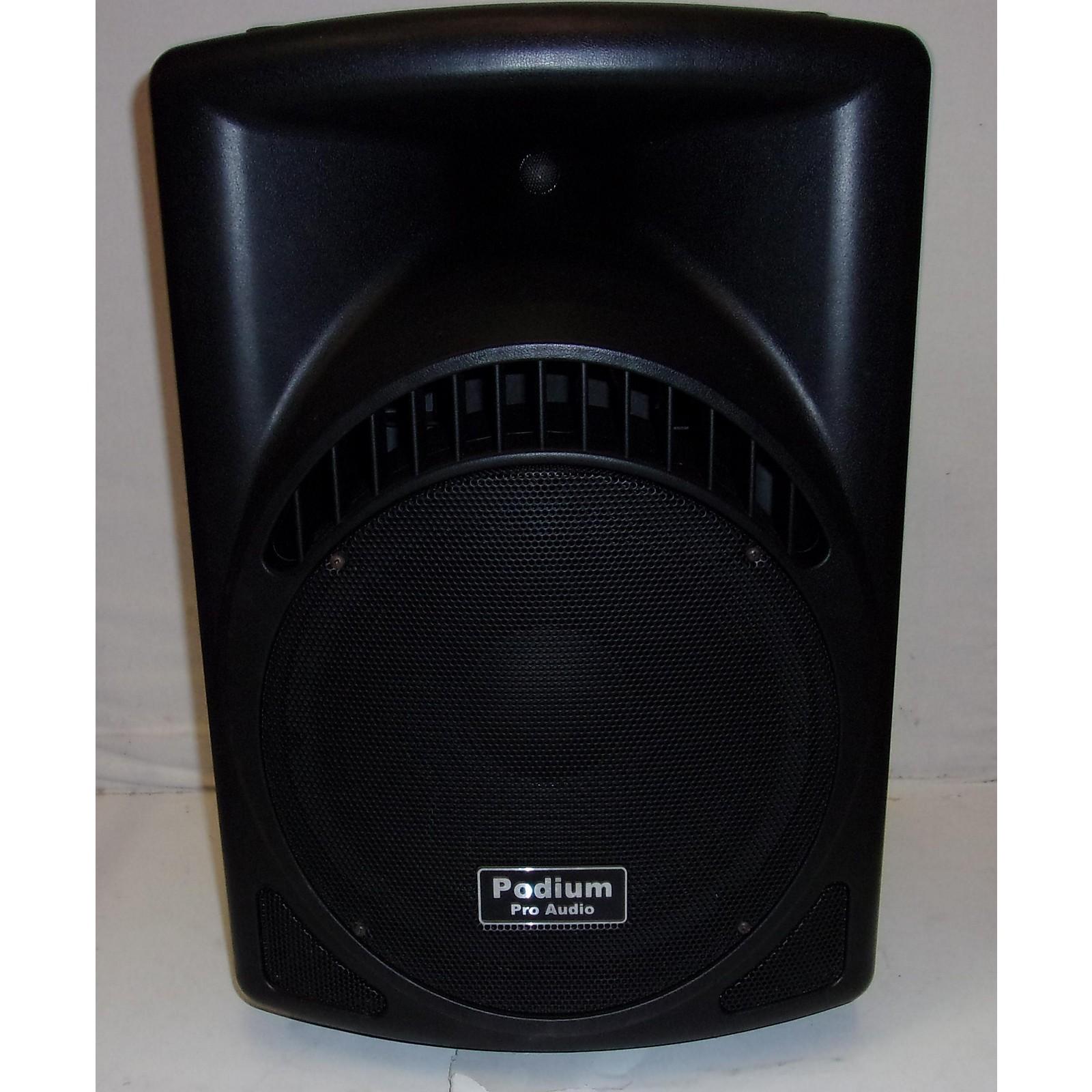 In Store Used Used Podium PP1204ca Powered Speaker