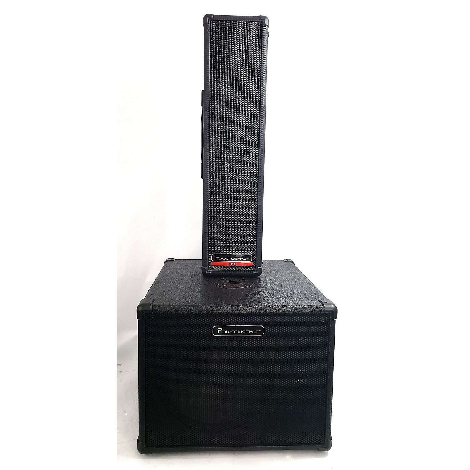In Store Used Used Powerworks PW150TFXBT W/ PW112s Subwoofer Sound Package