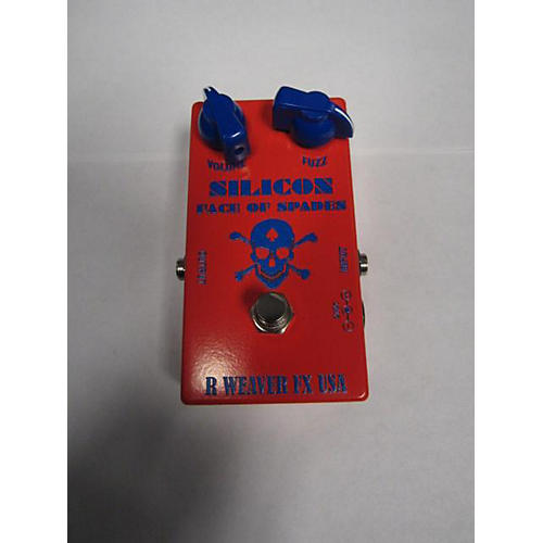 Used R Weaver Fx Silicon Face Of Spades Effect Pedal