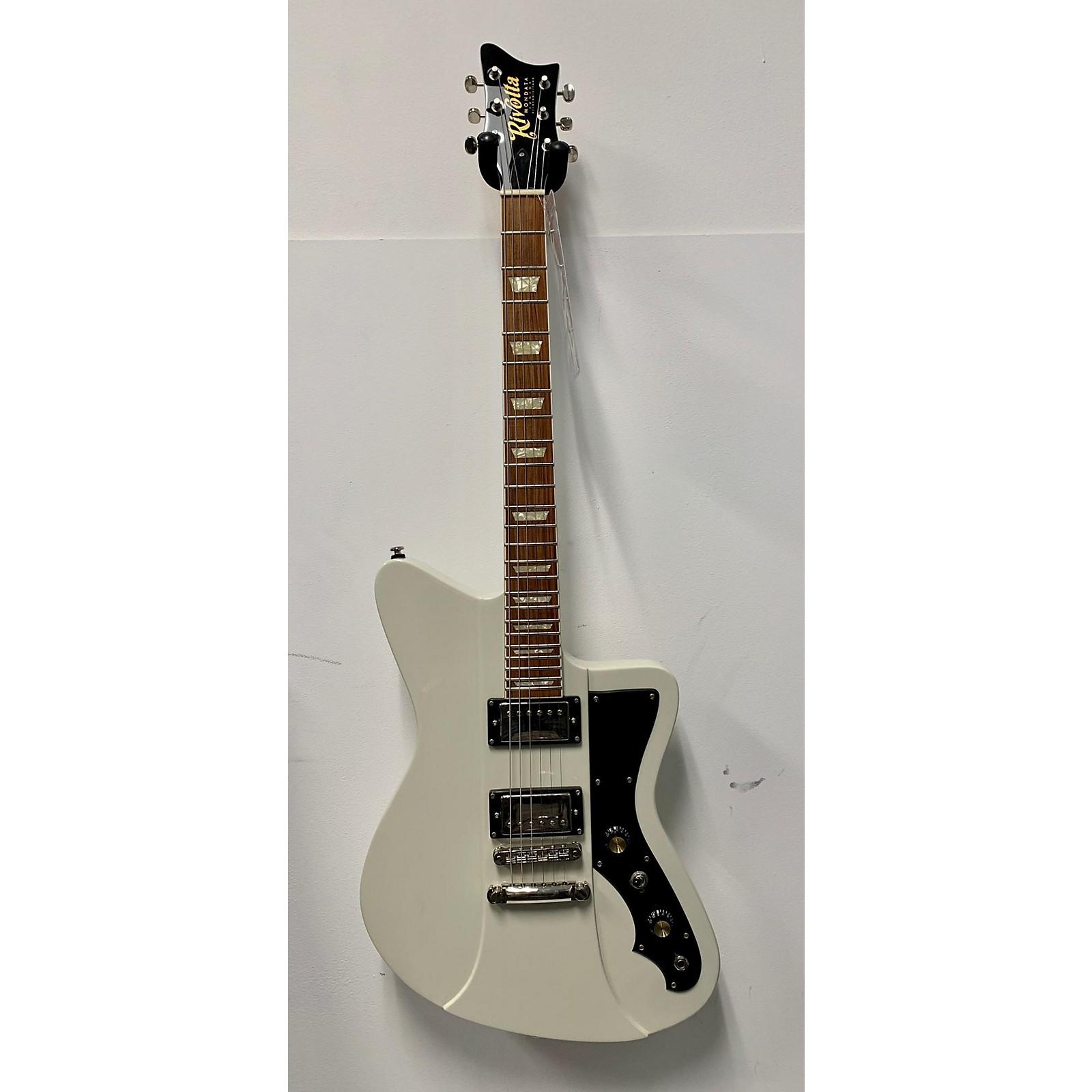 In Store Used Used RIVOLTA MONDATA JUNIOR Alpine White Solid Body Electric Guitar