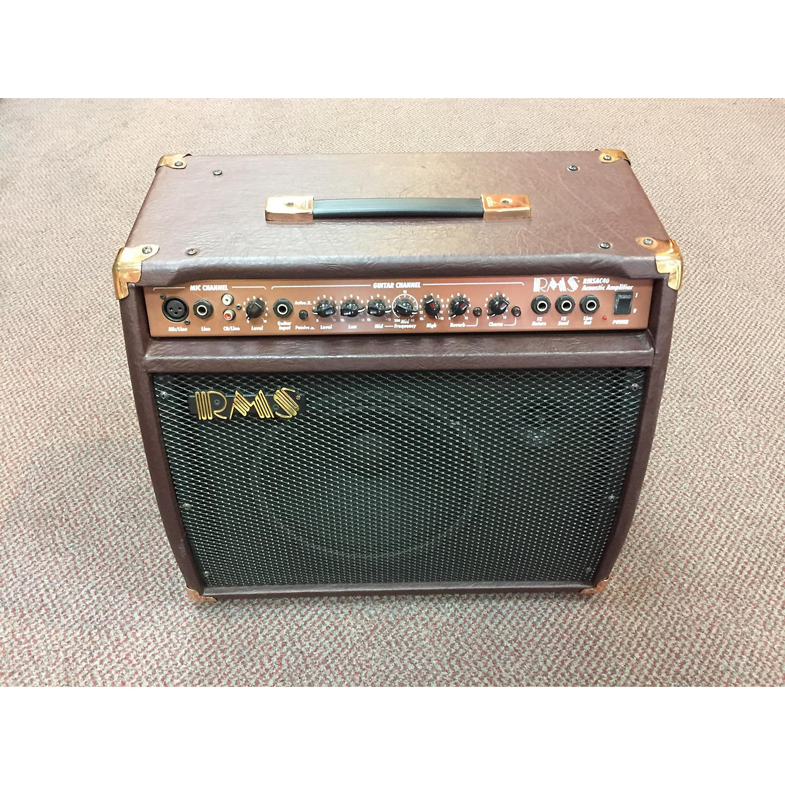 In Store Used Used RMS AC-40 Acoustic Guitar Combo Amp