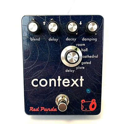Used Red Panda Context Effect Pedal